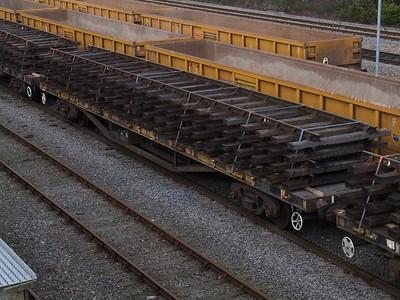 YWA 'Salmon' - Bogie Rail Wagon (Borail)