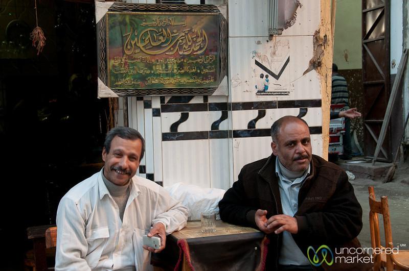 Egyptian Tea Time - Alexandria, Egypt