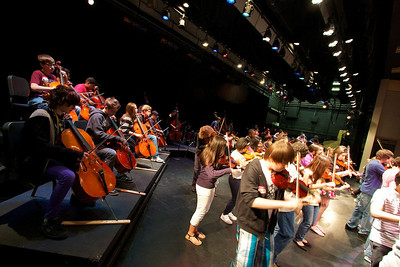 2012, Mark Wood Middle School Clinic/Concert