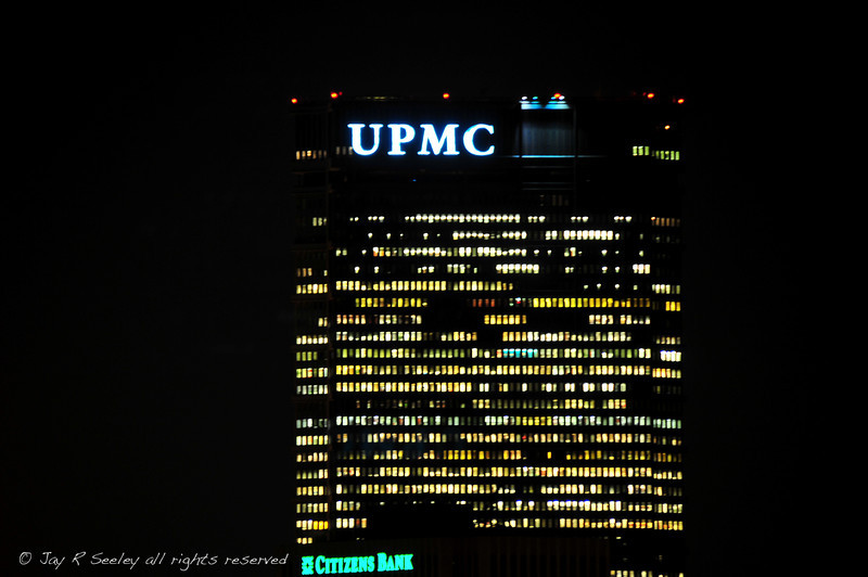 UPMC building downtown Pittsburgh.  Please Note: this image may need a property release if used for commercial purposes.