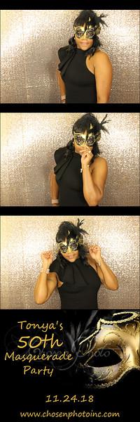 Tonya's 50th Masquerade Ball