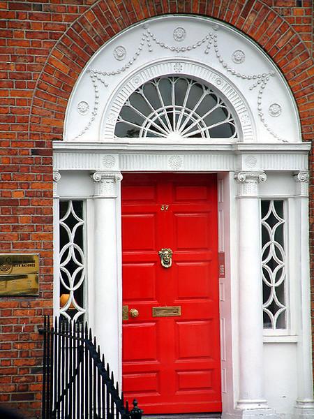 Dublin - Georgian Home Entrance