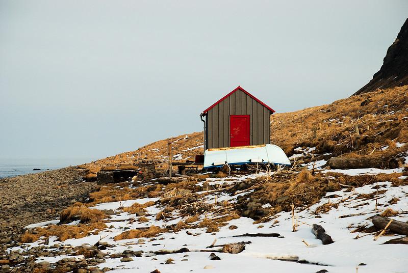 Hornvík - Horn. Sjávarhúsið 2013.