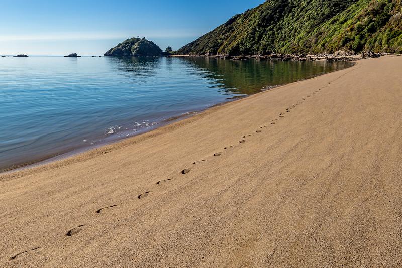 Ausserhalb der Saison ist es auch im «Abel Tasman National Park» ruhig geworden