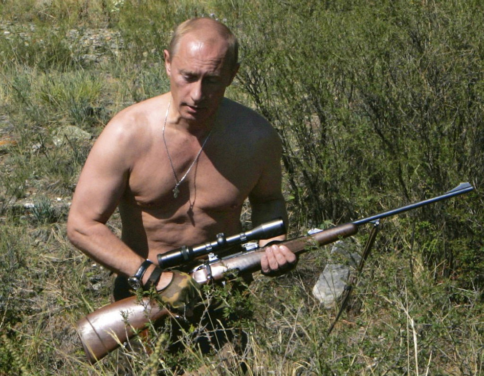 ". <p>2. VLADIMIR PUTIN <p>He�s got chunks of guys like Obama in his stool. (1) <p><b><a href=\'http://www.twincities.com/nation/ci_25270053/putin-russia-has-right-use-force-ukraine?source=rss\' target=""_blank\""> HUH?</a></b> <p>    (AP Photo/RIA Novosti, Dmitry Astakhov, Government Press Service, file)"
