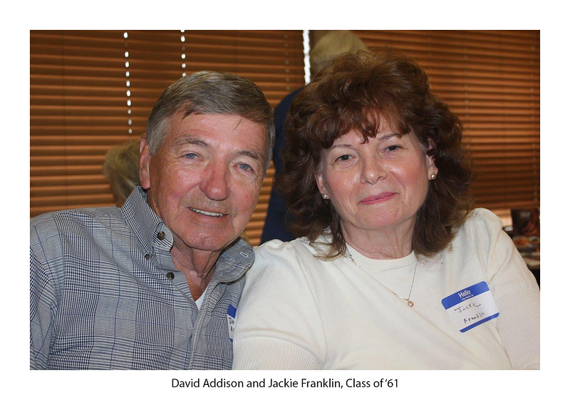 David Addison '61 and Jackie Franklin '61.jpg