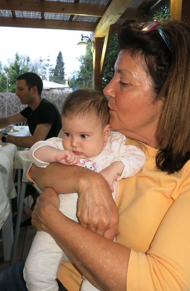 Libby with Hadas