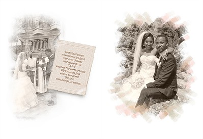 Damme & Negassa Wedding Album