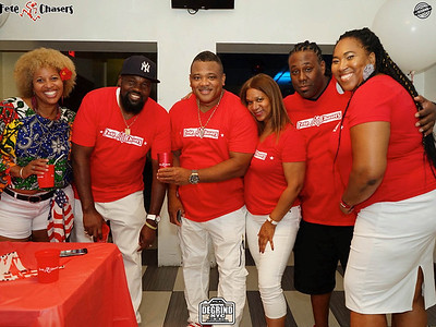 FETE CHASERS RED & WHITE