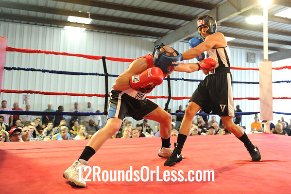 "Bout 3 Armando ""AC"" Castro, King's Gym -vs- Hakamat Hero,   Evolve MMA 165 lb Novice"