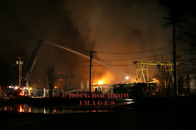 Taunton, MA - 3rd Alarm, William Hook Lane, 3-24-08