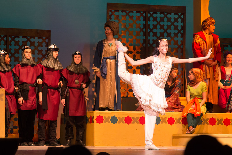 Princess Samahris -- Kismet, Montgomery Blair High School spring musical, April 15, 2016 performance (Silver Spring, MD)