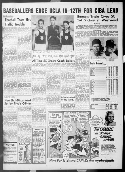 Daily Trojan, Vol. 44, No. 136, May 20, 1953