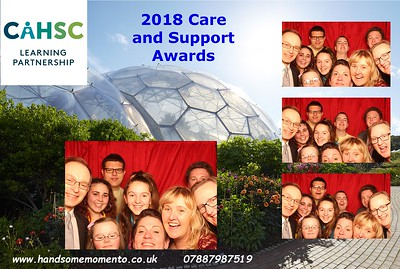 The Care and Support Awards for Cornwall at The Eden Project 09-02-18
