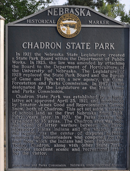 Chadron, Nebr. to but not including Crazy Horse Monument