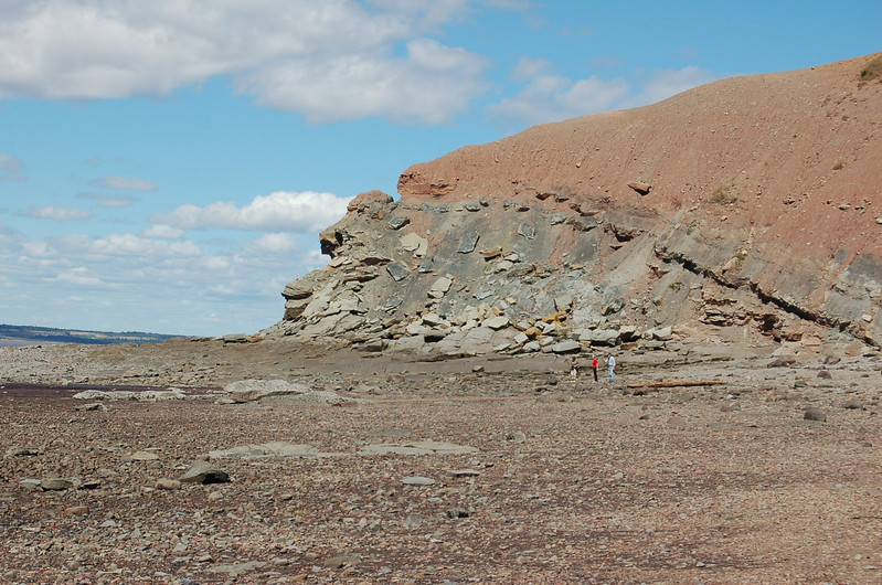 Bay of Fundy at Joggins Fossil Cliffs, Nova Scotia