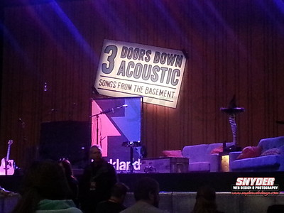 2014 -  3 Doors Down - Sands Casino Bethlehem, PA 2/12/14