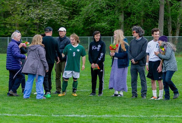 Vashon Island High School Boys Soccer Seniors 2018