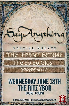 Say Anything June 18, 2014