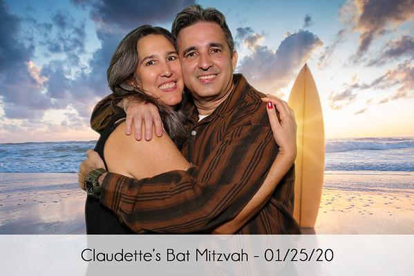 Claudette's Bat Mitzvah
