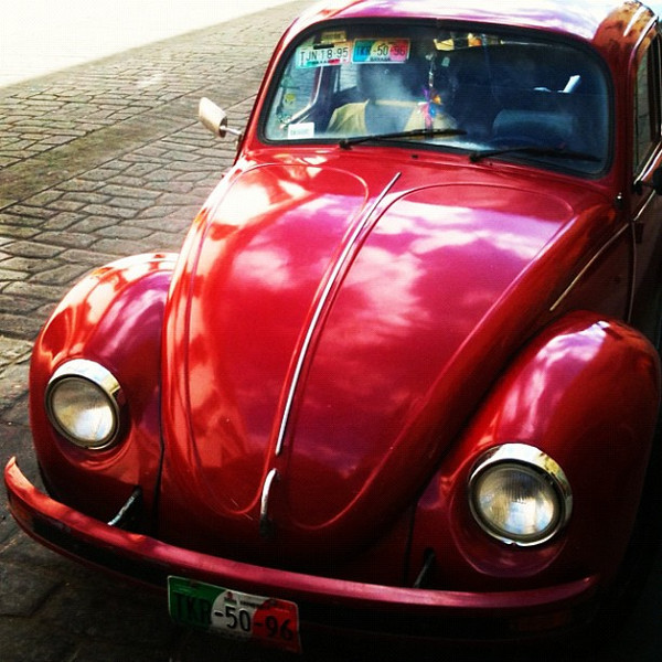 One of things we love about #oaxaca is all the bugs...of a VW variety. #mexico
