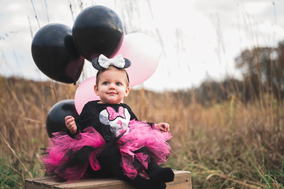 Evie's 1st birthday session