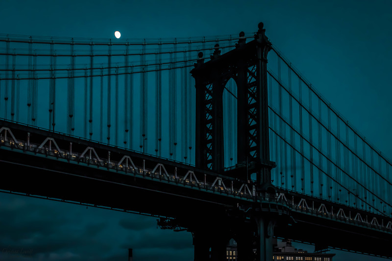 Williamsburg bridge and moon.jpg