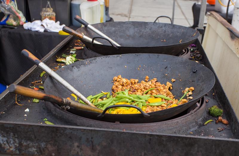 Asian street food.