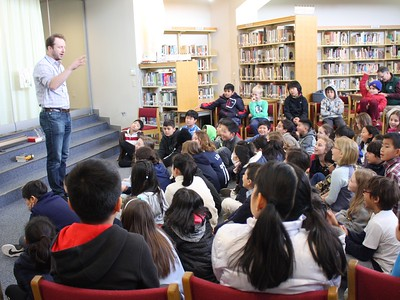 Author Visits at NIS!