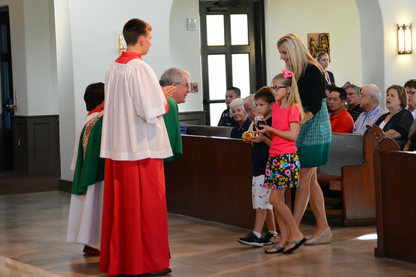 Scenes from Celebration's Corpus Christi Catholic Church July 6 2014