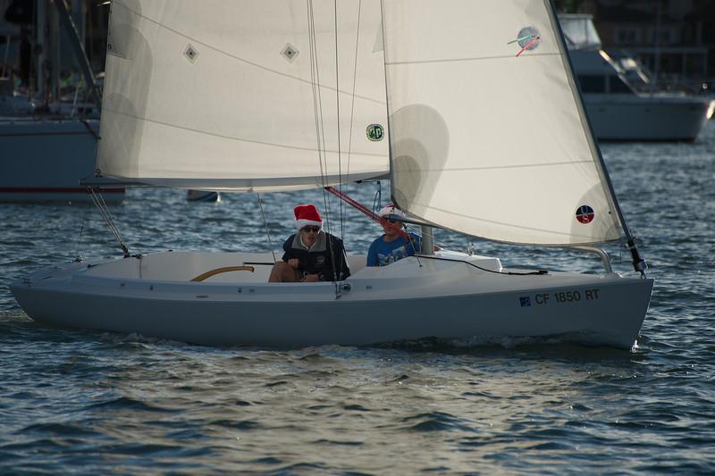 Photo of Portsmouth Folly regatta at the Balboa Yacht Club, Corona Del Mar, CA 2012