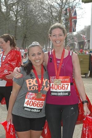 London Marathon 21st April 2013