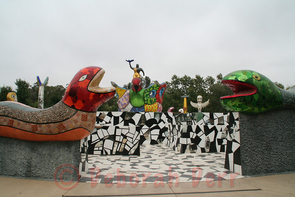 Niki de Saint Phalle Sculpture Garden