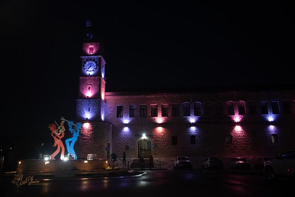 2018-08-30 Safed and Haifa at Night