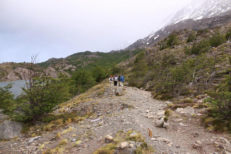 18k hike to Gray Glacier