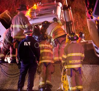 Extrication TT Rollover - Waterbury, CT - 4/16/20