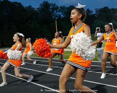 JV Cheer at Fairfax 9/12/18