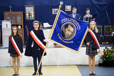 2018-11-24 - Mszczonów - Nadanie imienia J. A. Maklakiewicza Szkole Podstawowej
