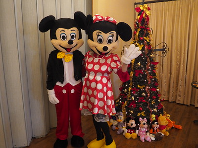 Mickey and Minnie Decorate the Christmas Tree 2017