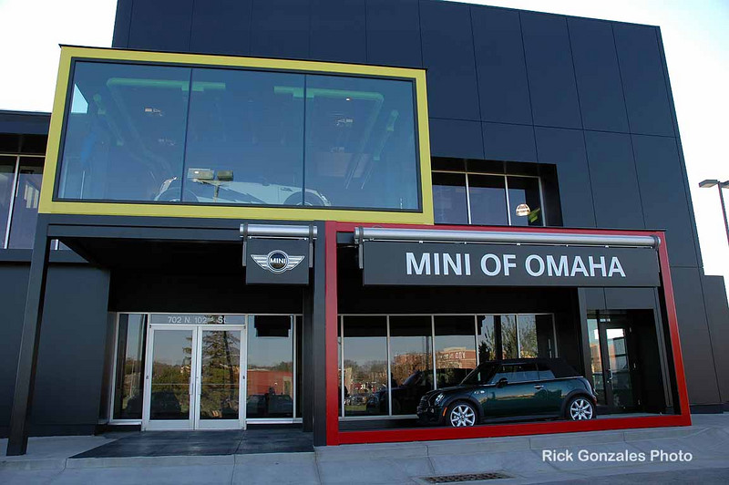 We arrive at one of the newest MINI dealers in the west, located in Omaha, Nebraska.