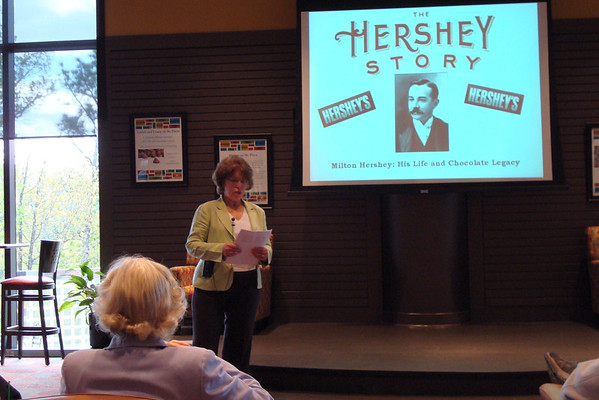 Learn @ the Plaza-The Life of Milton Hershey April, 7, 2009