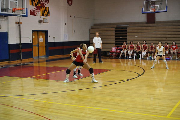 Wooton Girls JV Volleyball 2010