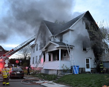 House fire - Child Street Rochester, NY - 4/26/21