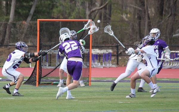 April 16, 2019 Boys LAX Var vs Old Bridge 5-3 win, photos by S Abreu