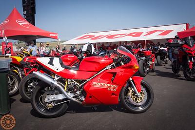 2019 Ducati Island at COTA MotoGP