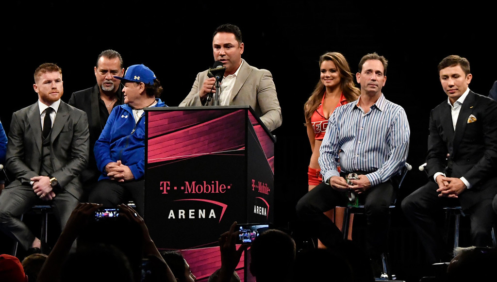 . <b>31. Oscar De La Hoya, 44, Golden Boy Promotions Chairman and CEO </b> <br>After buying out Golden Boy co-founder Richard Schaefer and the company�s two largest investors in 2014 ...  (Photo by Gene Blevins, Los Angeles Daily News/SCNG)