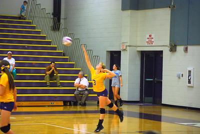North Hendersonville Volleyball 2014