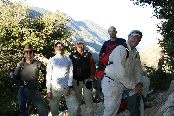 San Gorgonio Hike - October 22, 2006
