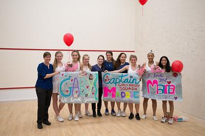 2/22/17: Girls' Varsity Squash v Westminster