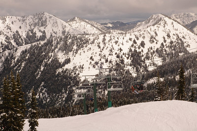 Crystal Mtn Skiing